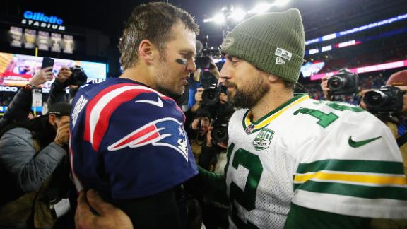 Who is more mediocre: Aaron Rodgers or Tom Brady?