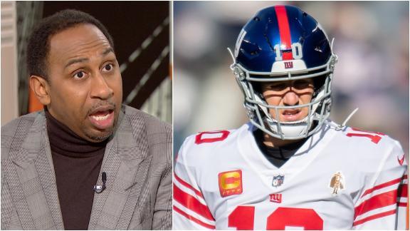 Stephen A: Eli isn't a Hall of Fame QB