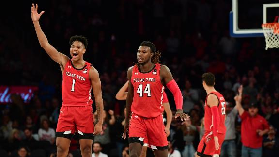 Texas Tech upsets No.1 Louisville