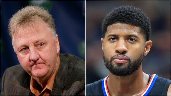 Windhorst: Bird likely target of PG's postgame comments