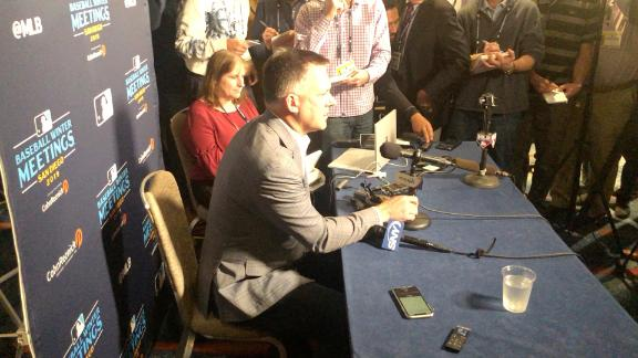 """Astros manager A.J. Hinch addresses """"the elephant in the room"""" - MLB's"""