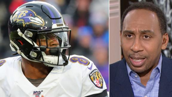 Stephen A.: Rest might help Lamar Jackson for playoffs