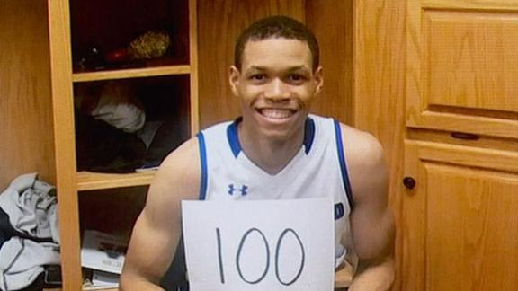 J.J. Culver becomes second player to score 100 points in NAIA