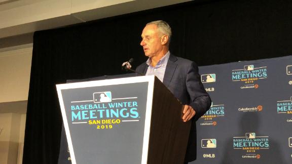 Manfred details ongoing Astros investigation