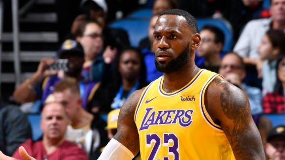 LeBron's triple-double leads Lakers to victory