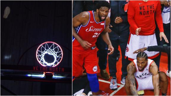 Raptors retrace Kawhi's steps on 'the shot heard 'round the world'