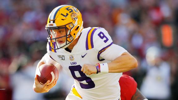 The best of Joe Burrow's Heisman season