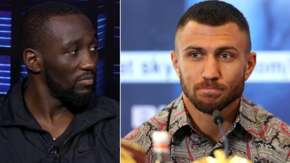 Crawford: I am No. 1 pound-for-pound fighter, above Lomachenko
