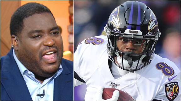 Woody: If Lamar Jackson runs, he is going to get hit