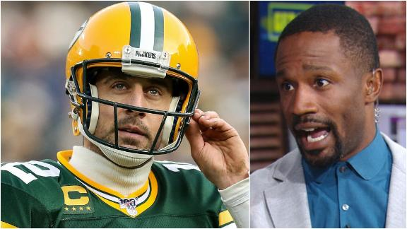 Foxworth: Rodgers is not a top-eight QB in the NFL