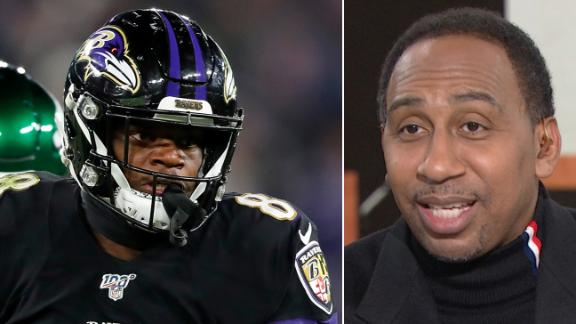 Stephen A.: Lamar was impressive, but it was against the Jets