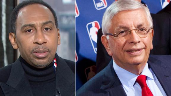 Stephen A.'s thoughts and prayers are with Stern