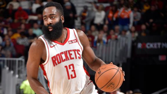 Harden drops 54 points to rout Magic