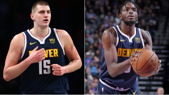 Jokic, Grant help end Nuggets' three-game skid
