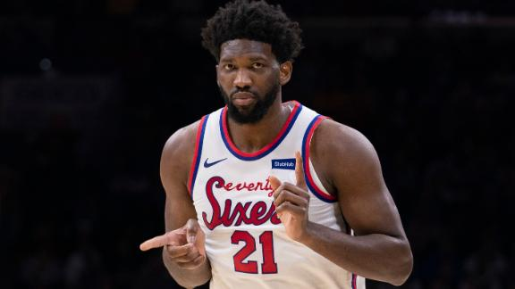 Embiid, Harris power Sixers to 14th straight home win