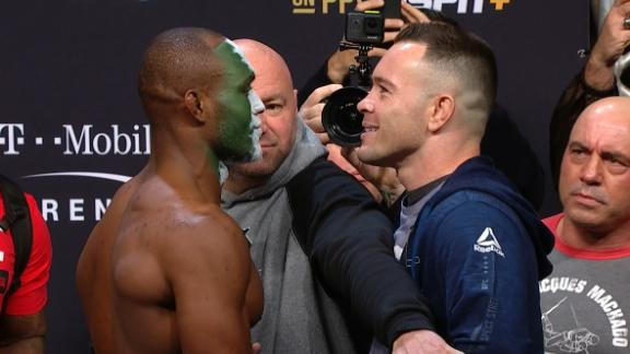 Usman, Covington make weight ahead of UFC 245