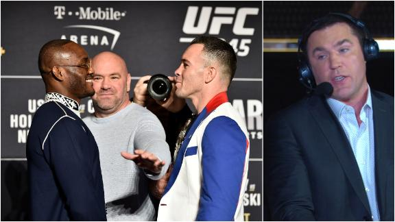 Sonnen: Usman, Covington beef is genuine