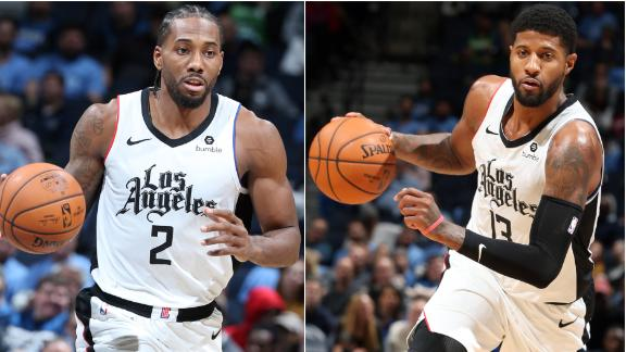 Kawhi, George combine for 88 points to outlast Timberwolves