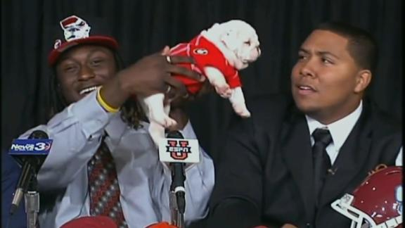 The odd, funny and memorable moments of signing day