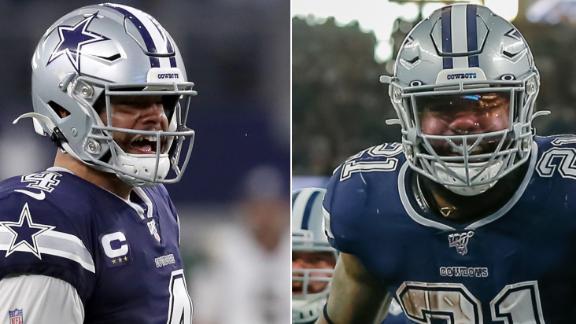 Dak, Zeke fuel Cowboys to dominant win over Rams