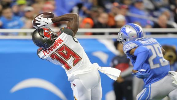Perriman scores 3 TDs in Bucs' win over Lions
