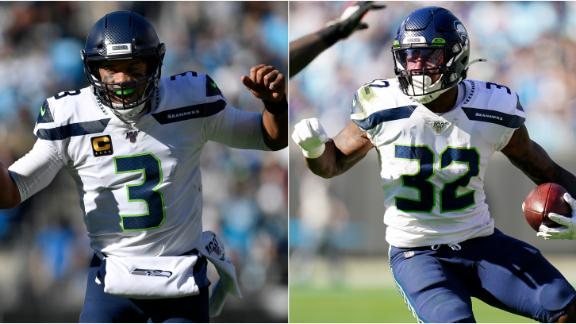 Wilson, Carson power Seahawks past Panthers