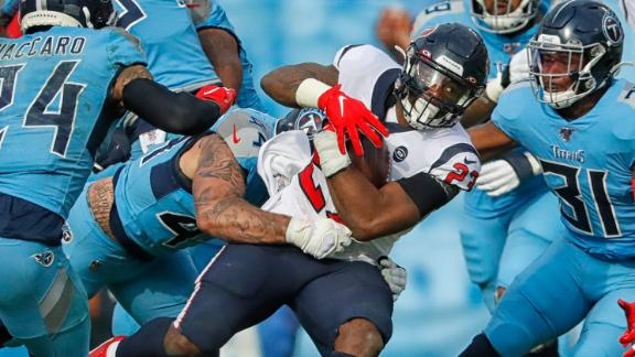 Stills, Hyde find end zone for Texans in win over Titans
