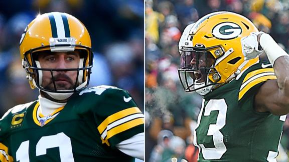 Rodgers, Jones lead Packers to victory over Bears