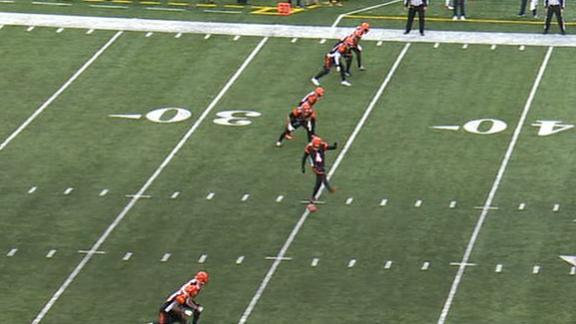 Bengals' onside kick goes horribly wrong