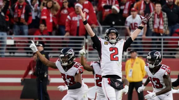 Falcons complete comeback after chaotic late-game sequence