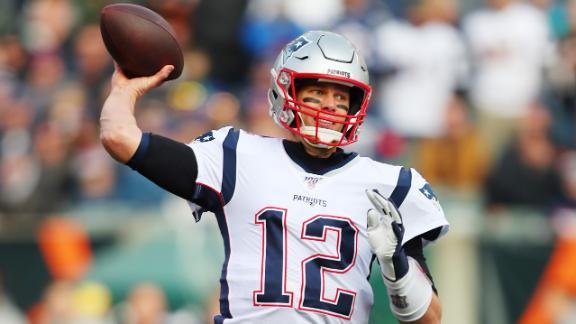 Brady, Gilmore lead Patriots past Bengals