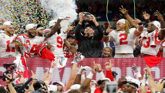 The undefeated Buckeyes are ready for the CFP