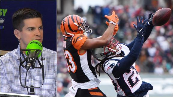 Boyd's rough fantasy stretch continues against Patriots