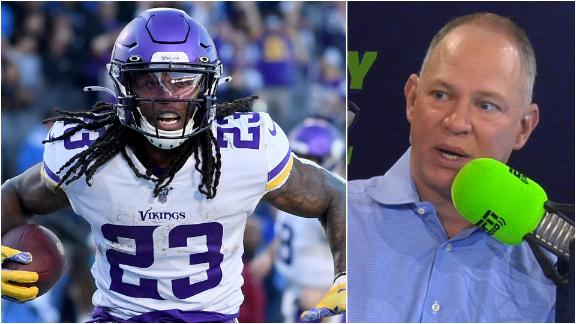 How should fantasy managers handle the Vikings running backs?