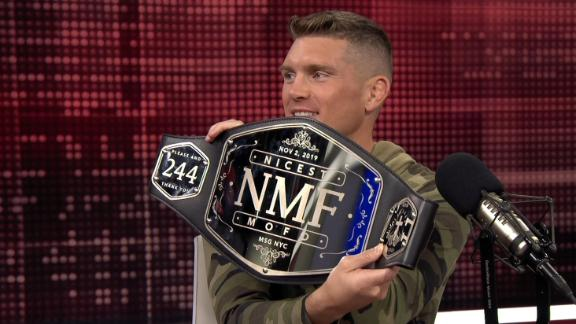 Thompson presented NMF belt