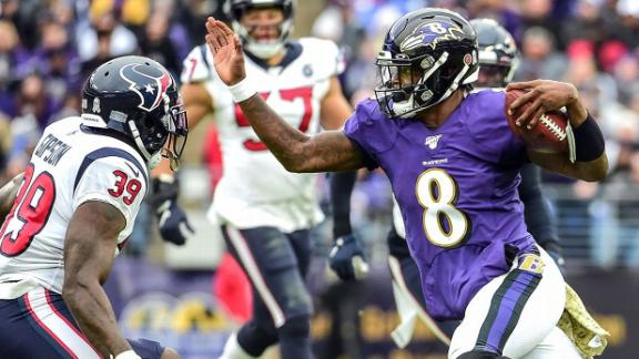 The best of Lamar Jackson's breakout season