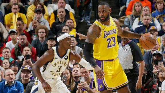 LeBron's near triple-double not enough for Lakers in road loss
