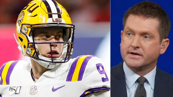 McShay reveals Burrow as top pick in Mock Draft 1.0