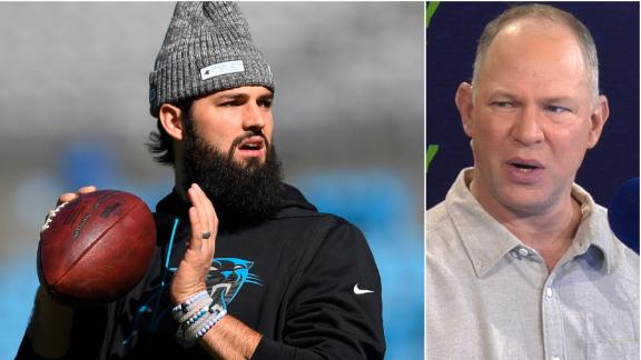 How does Grier starting affect the Panthers?