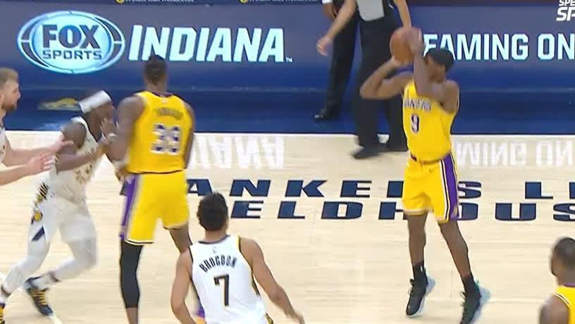 Rondo misses game-tying 3 at the buzzer