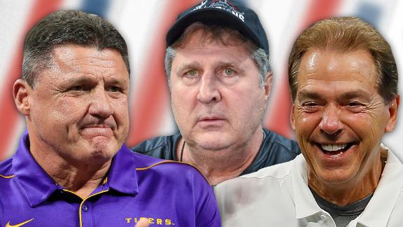 The best sound of the season from college football's coaches