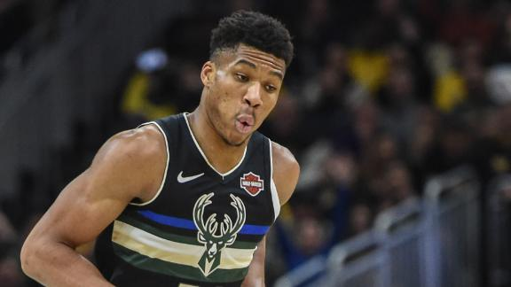 Giannis drops 34 to help Bucks hold off Lakers