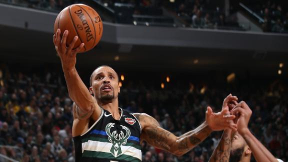 Hill sparks Bucks off the bench