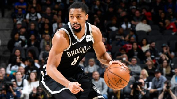 Dinwiddie hits career-high 41 as Nets fall to Spurs