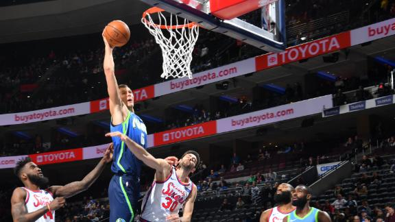 Porzingis pours in 22, snags career-high 18 boards in win