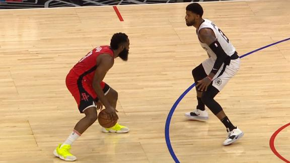 Harden dances on George for smooth floater