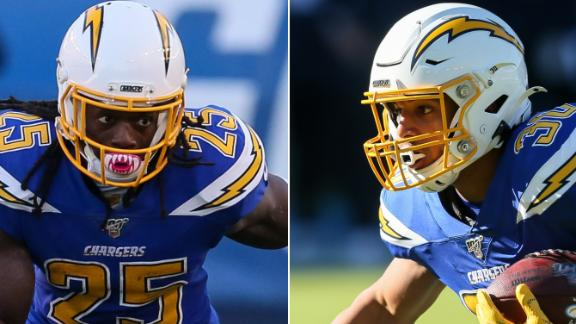 Gordon and Ekeler should be productive for Chargers