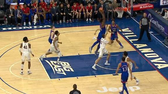 Azubuike fakes defender, dunks it home