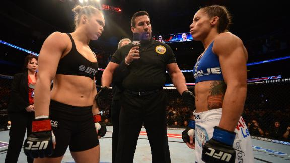 The impact of Rousey vs. Carmouche