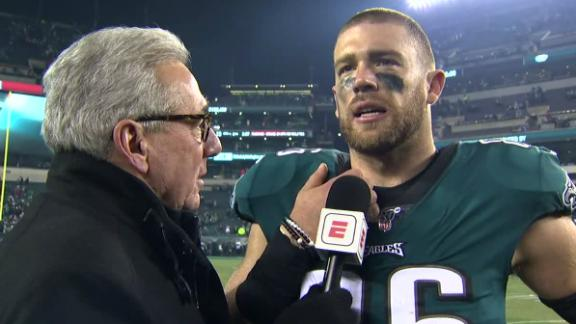 Ertz: We're playing our best football right now